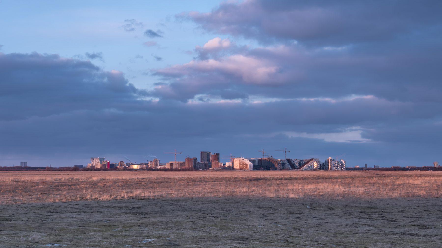 Landskabsfotografering: Kalvebod Fælled og Ørestad i baggrunden