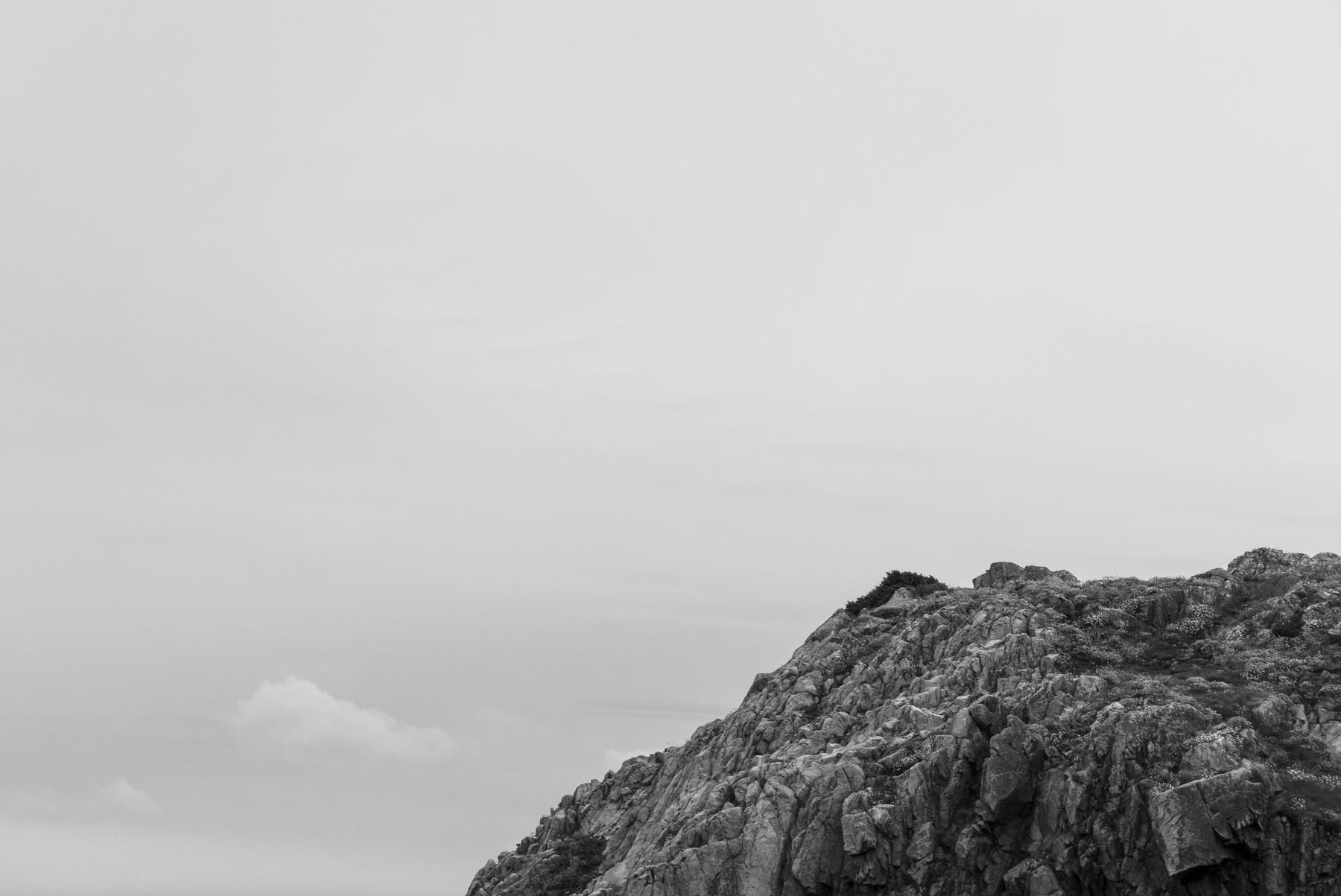 Landskabsfotografering i sort/hvid, Kullen, Sverige