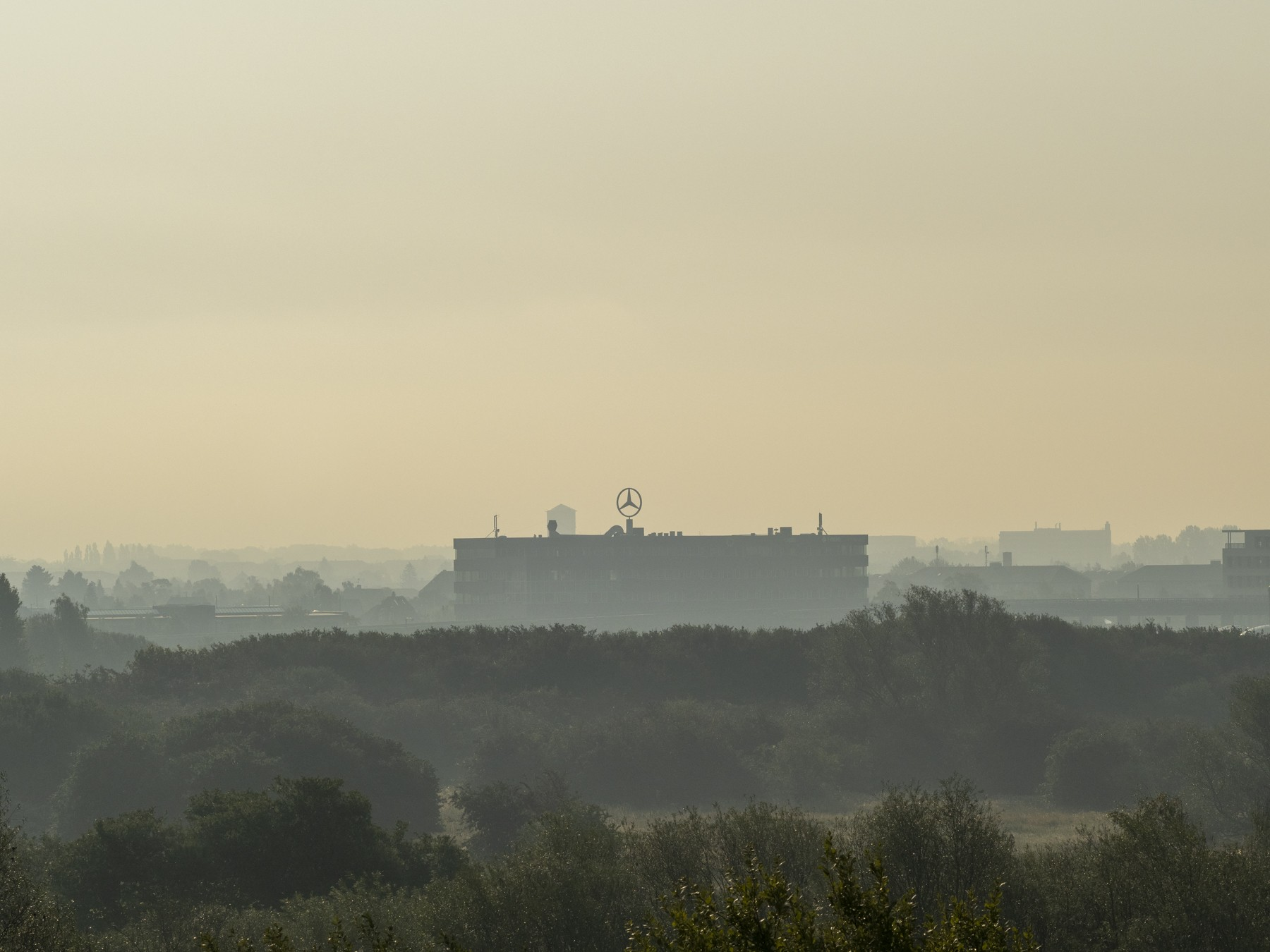 Panorama af Ørestad og Amager