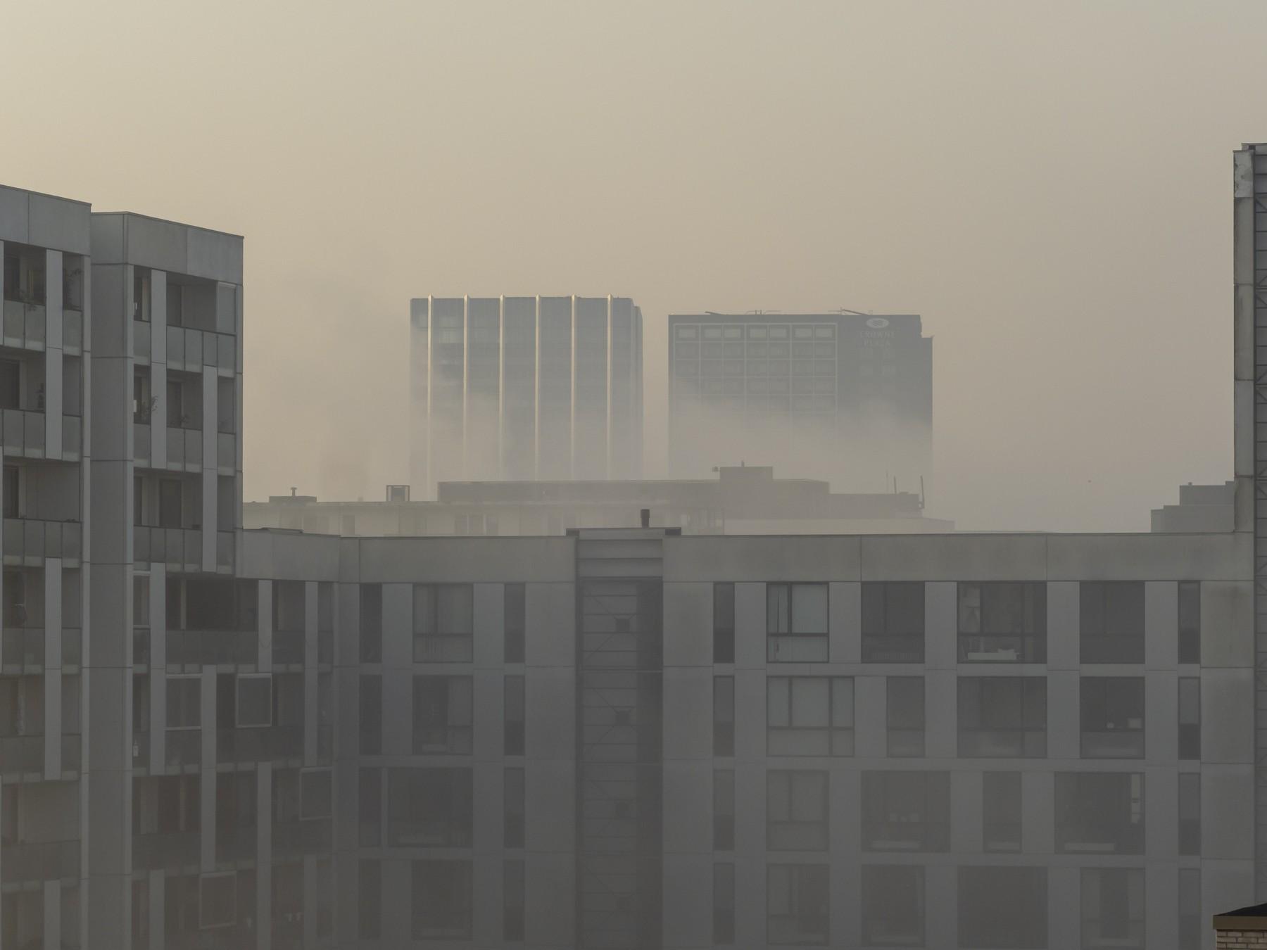 Ørestad C i kraftig tåge