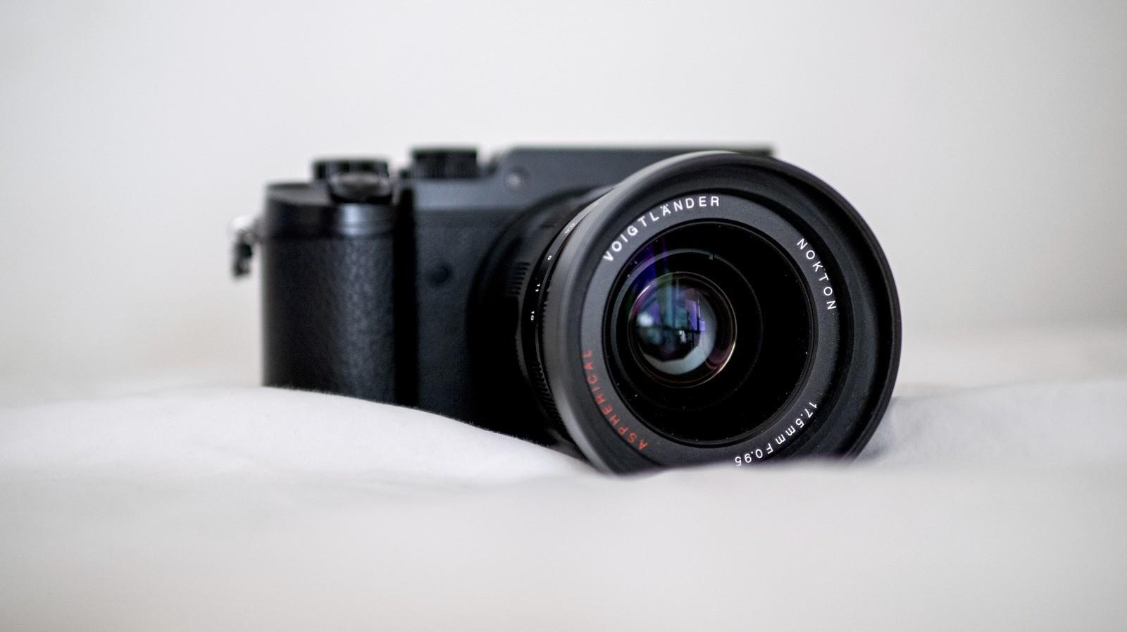 Voigtländer Nokton til Micro Four Thirds - 17.5mm f/0.95