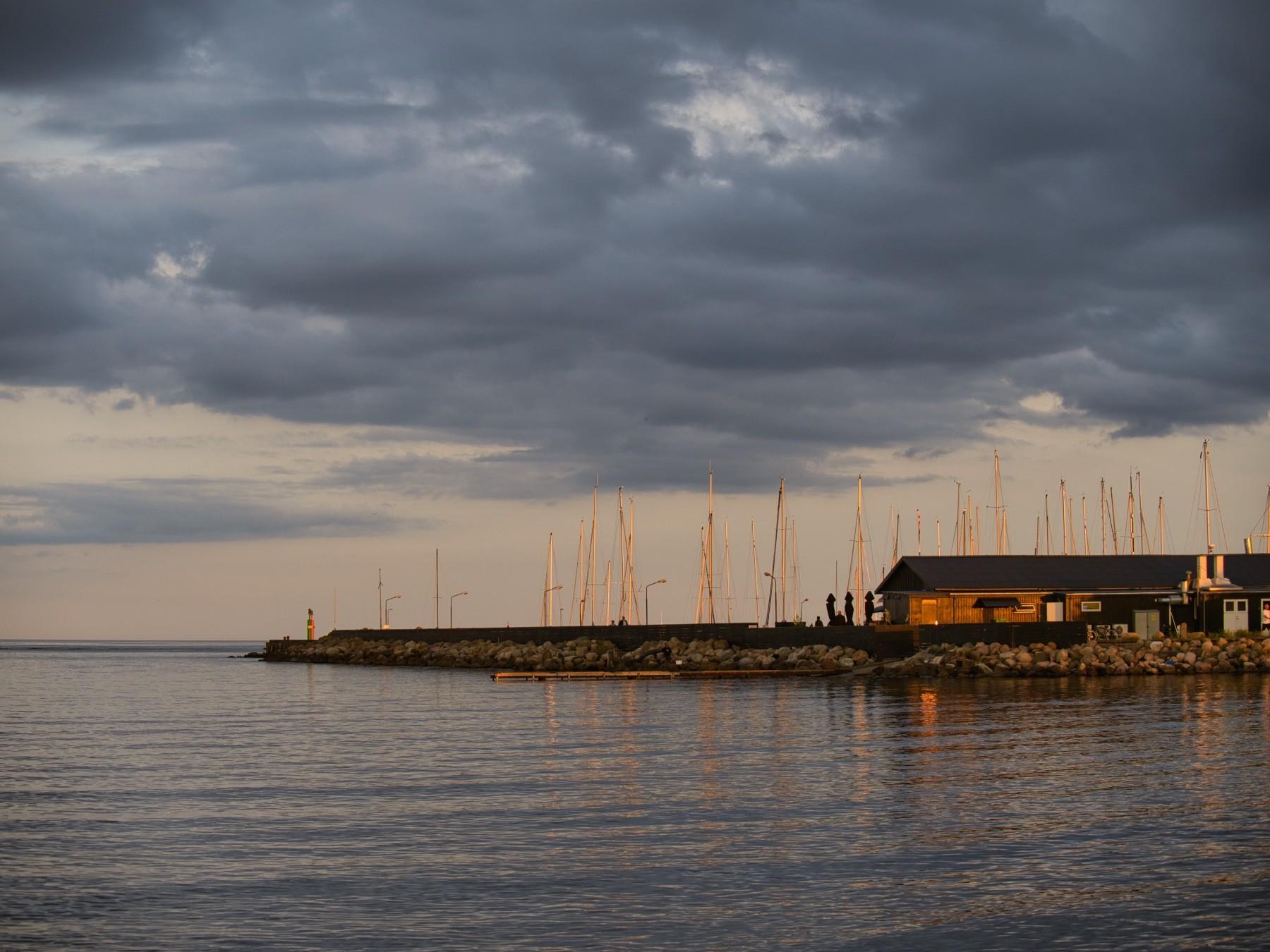 Modsede Havn fra nordsiden