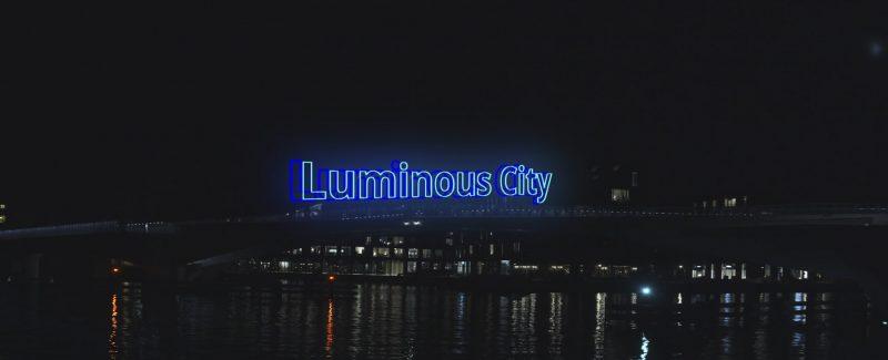Luminous city - en anamorfisk videoproduktion