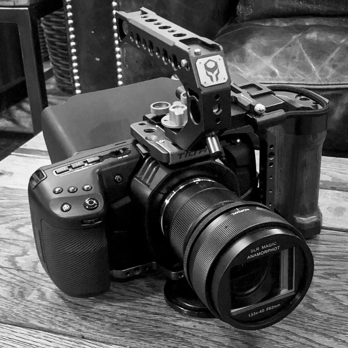 BMPCC4K med SLR Magic Anamorphot og Panasonic 25mm