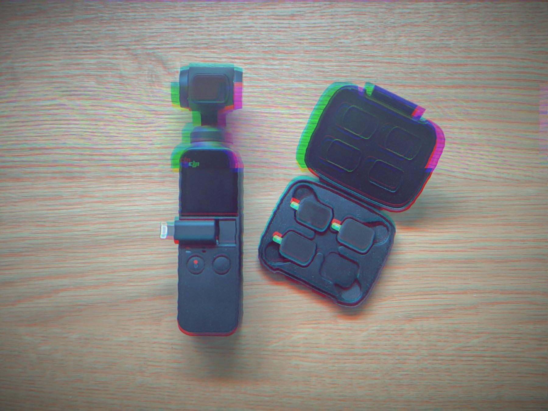 ND filtre til DJI Osmo Pocket