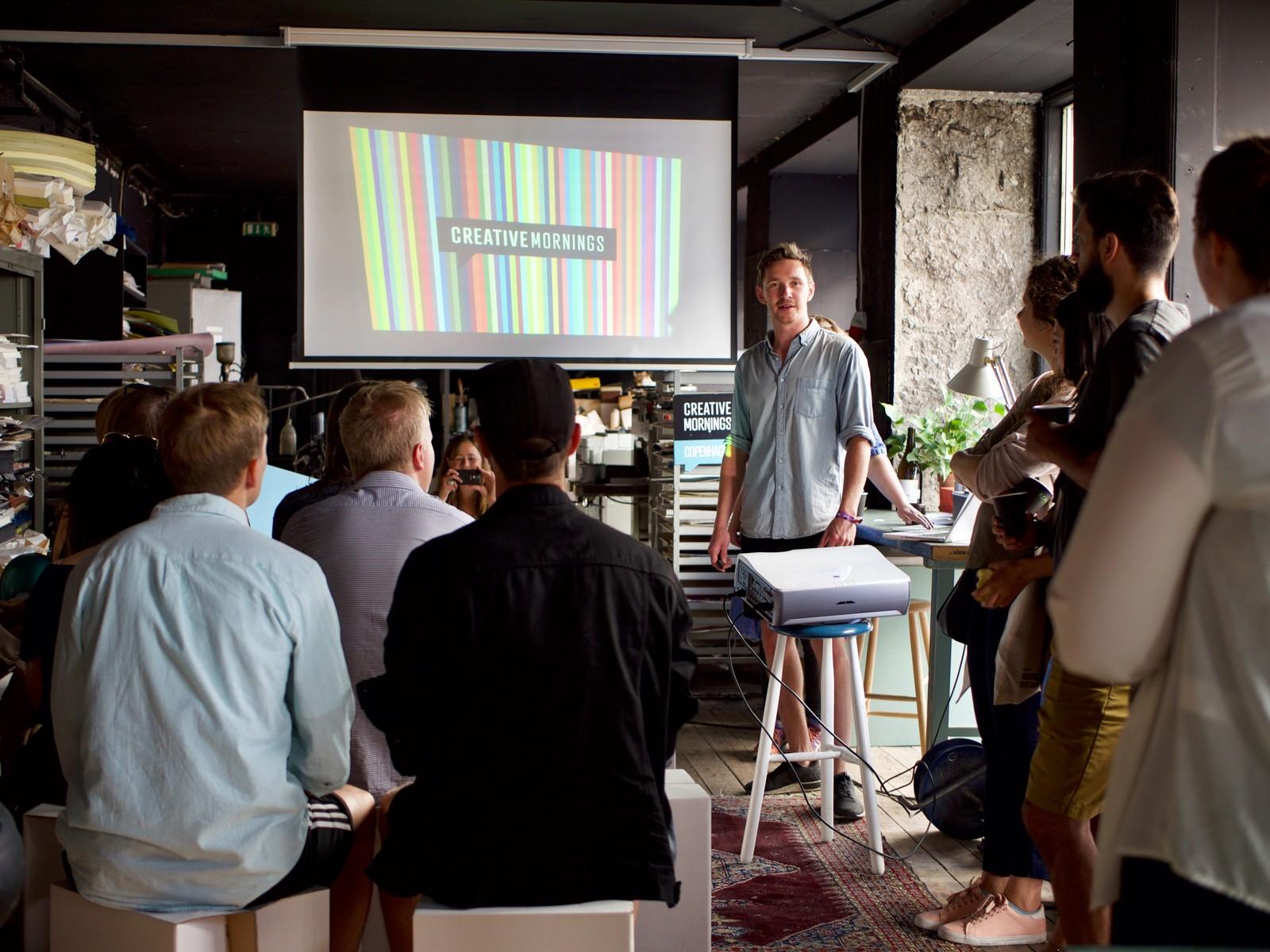 Creative Mornings hos Officin, Hawaii Bio, København
