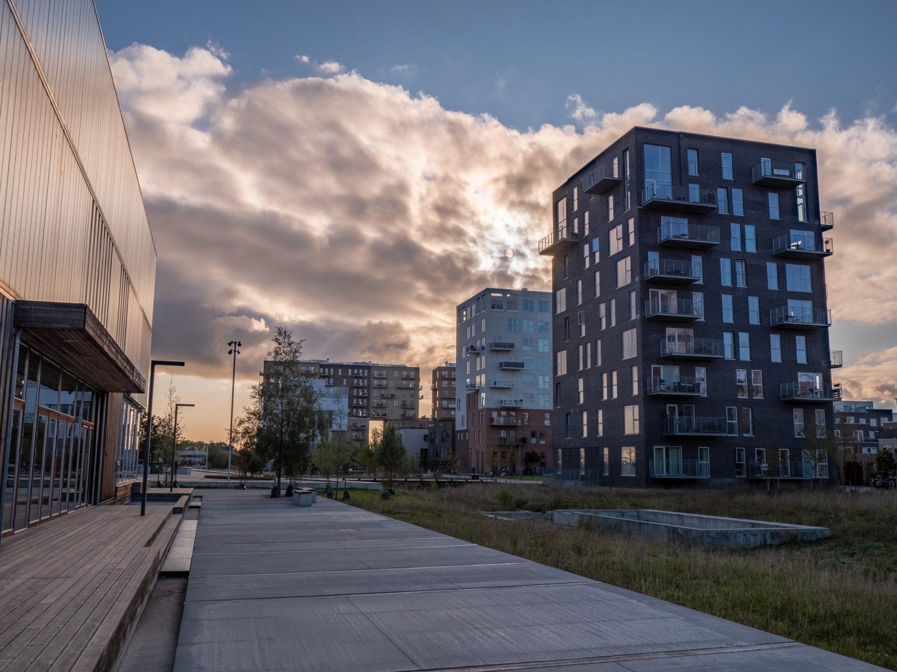 Arenakvarteret i Ørestad, forår 2019
