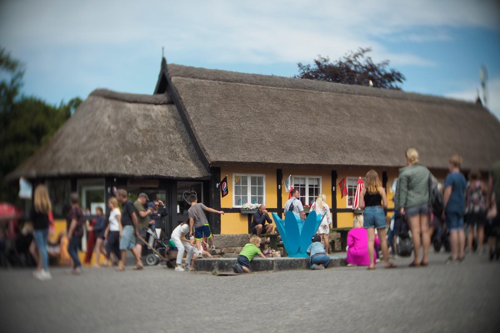 Brændegårdshaven, Bornholm, fotograferet med et SLR Magic Toy Lens
