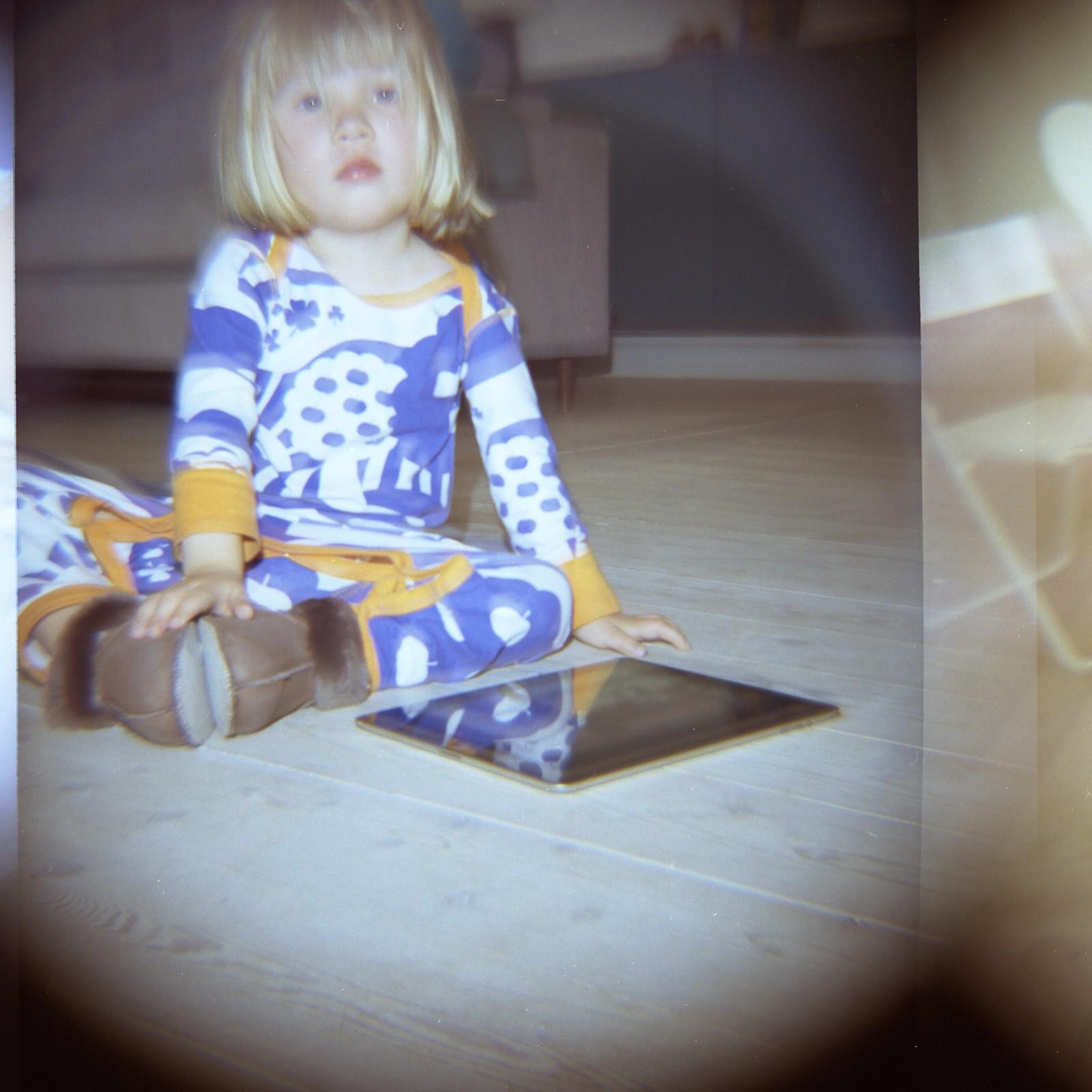 Mikka skudt med et Diana F kamera
