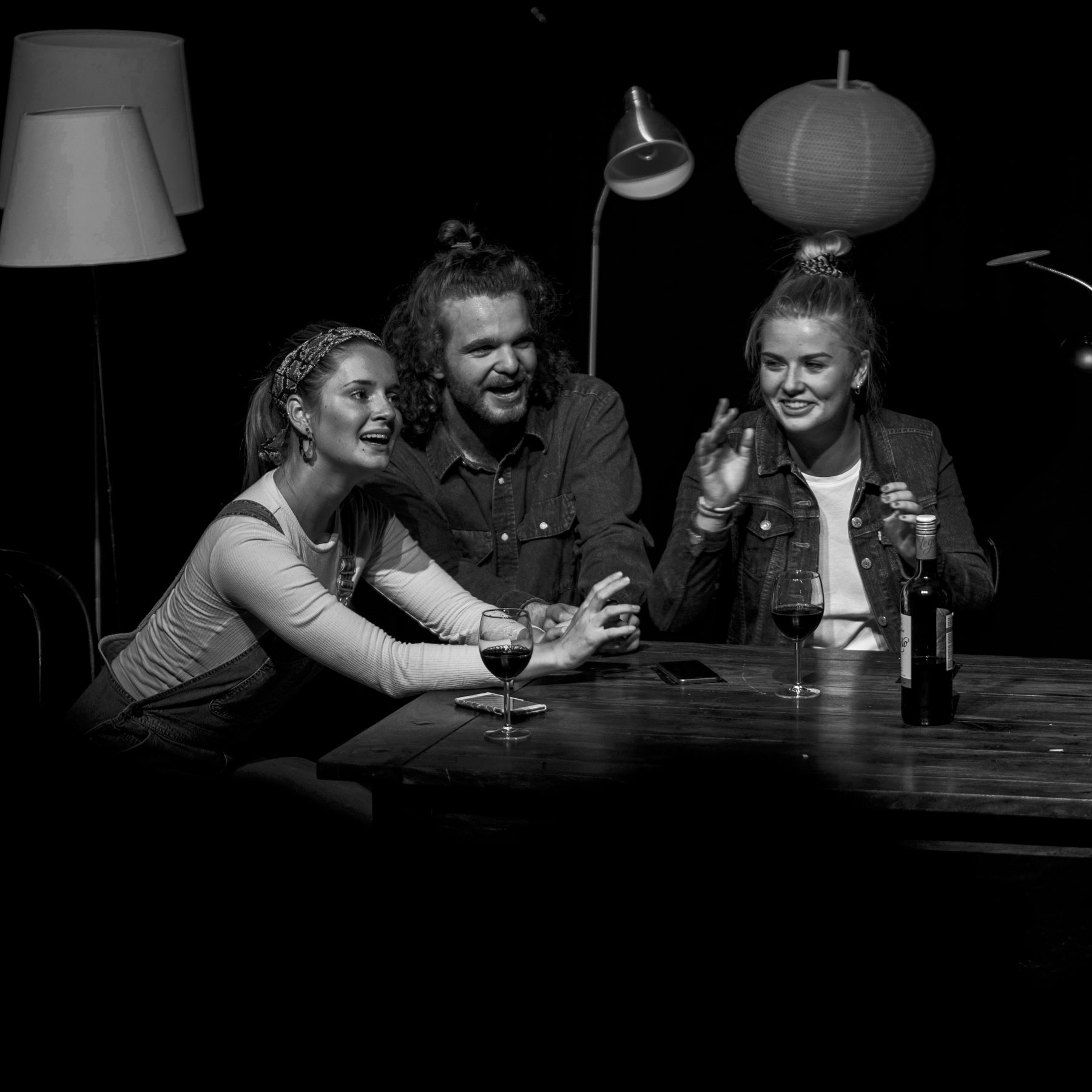 Teaterfotografering - Den sidste nadver på Vildskud 2019 teaterfestival