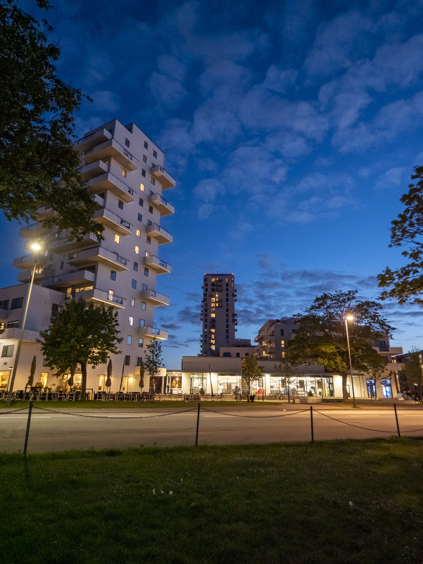 Højhuse ved Amager Strand/Krimsvej