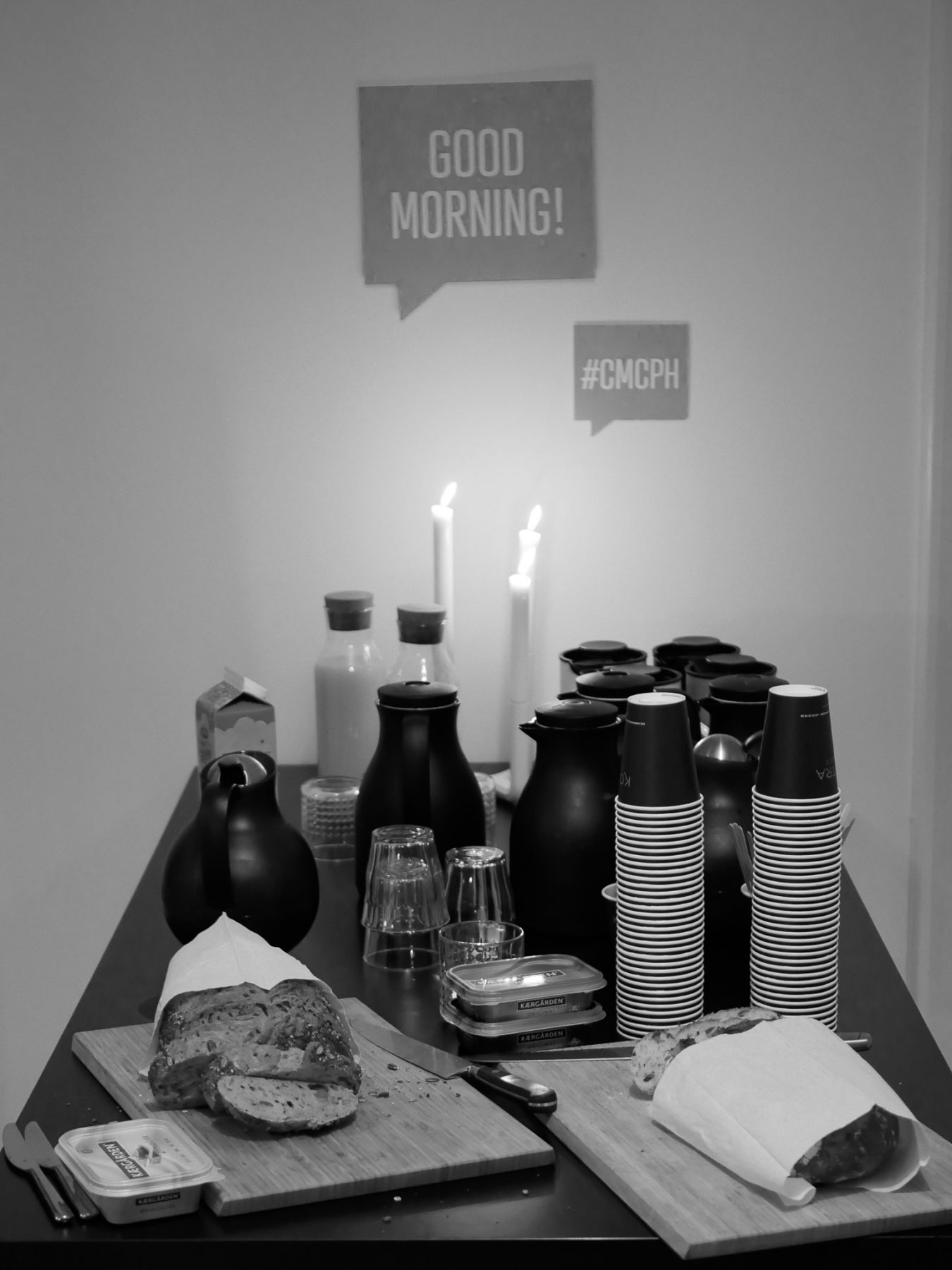 Kaffe og morgemad - Creative Mornings CPH