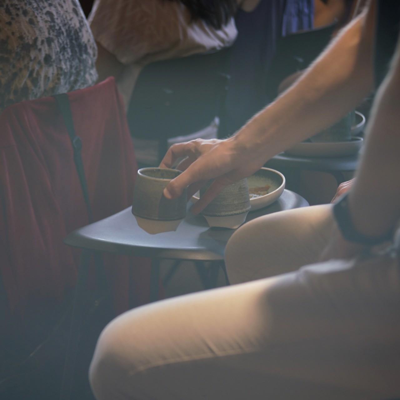 Event fotografering til Instagram: Kaffe - en vigtig del af en Creative Morning - skudt med Lomography Neptune