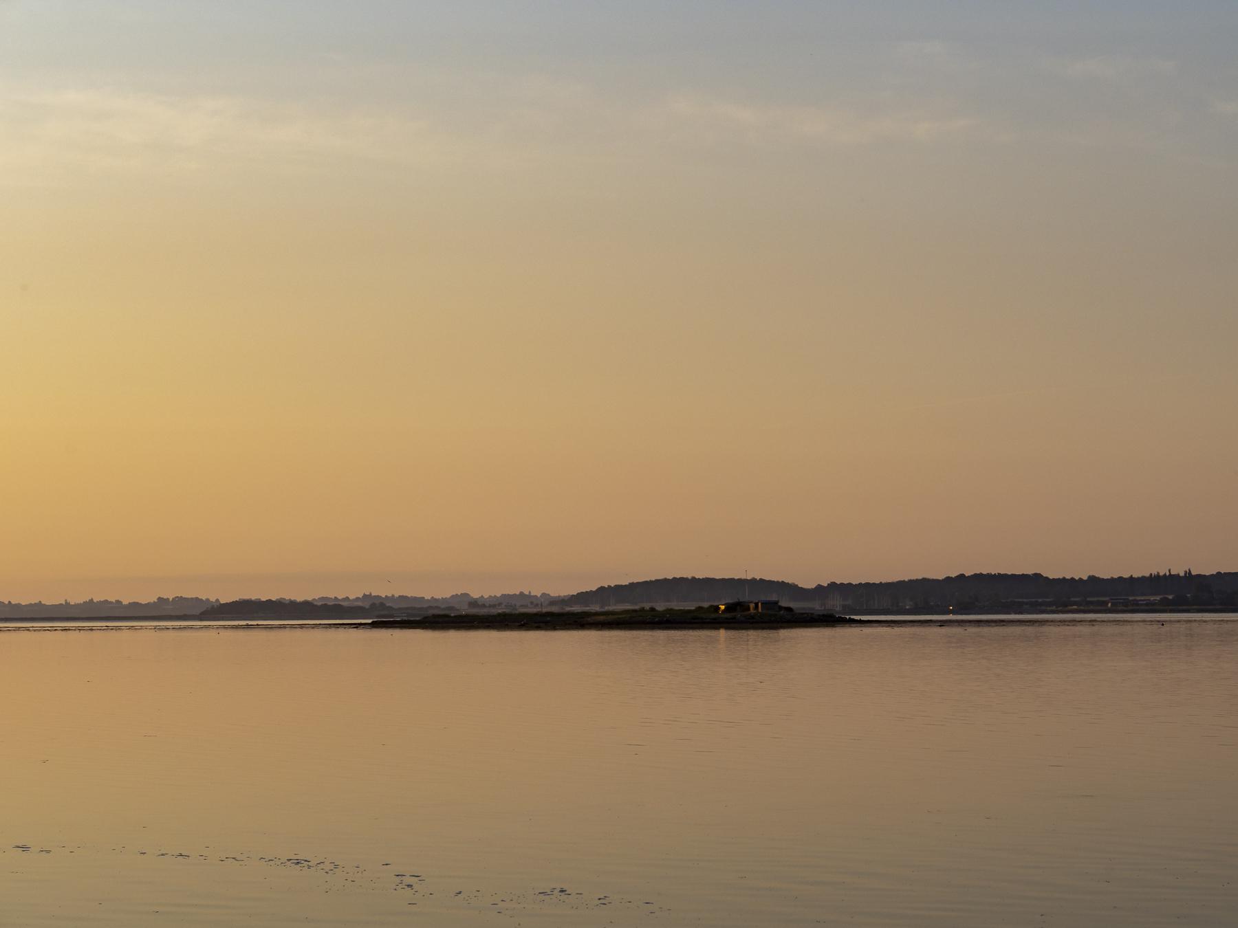 Holbæk Fjord om morgenen