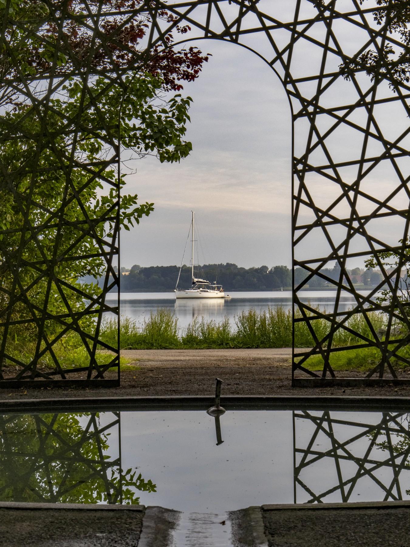 5-dimensionel pavillon, Olafur Eliassons værk i Holbæk