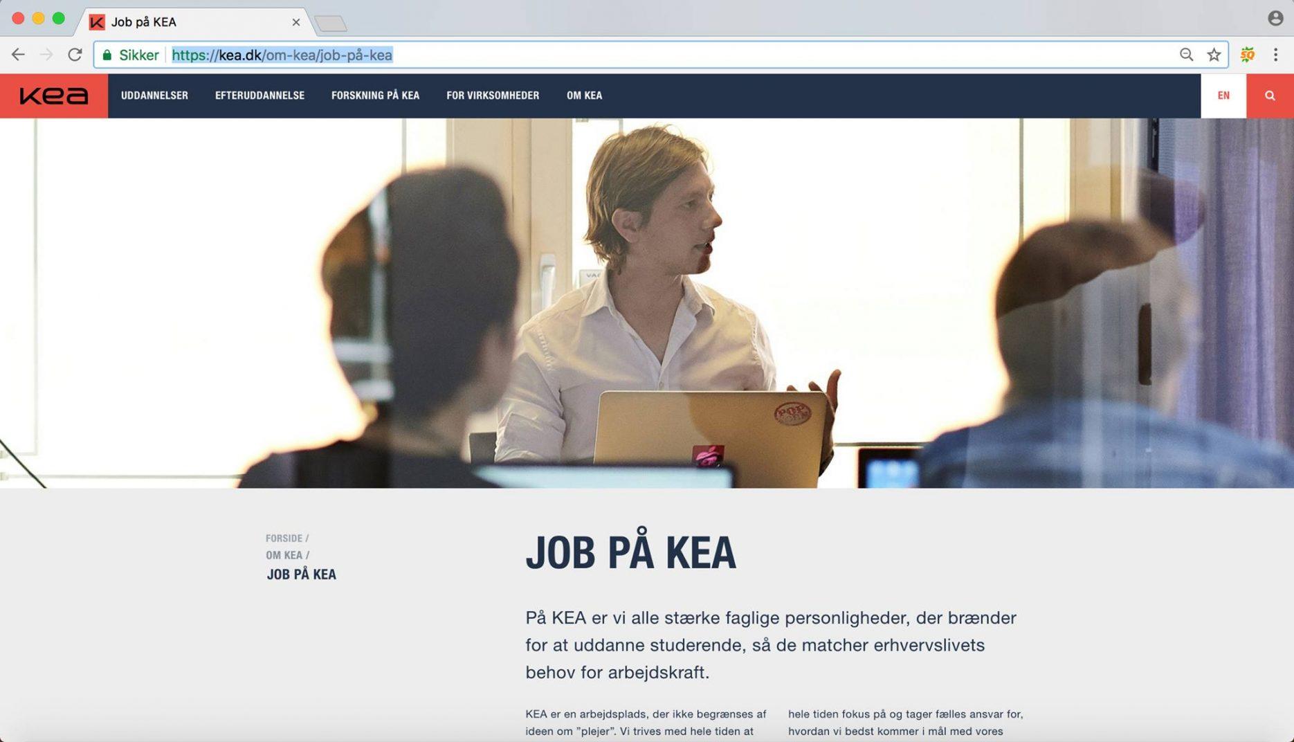 Job på KEA