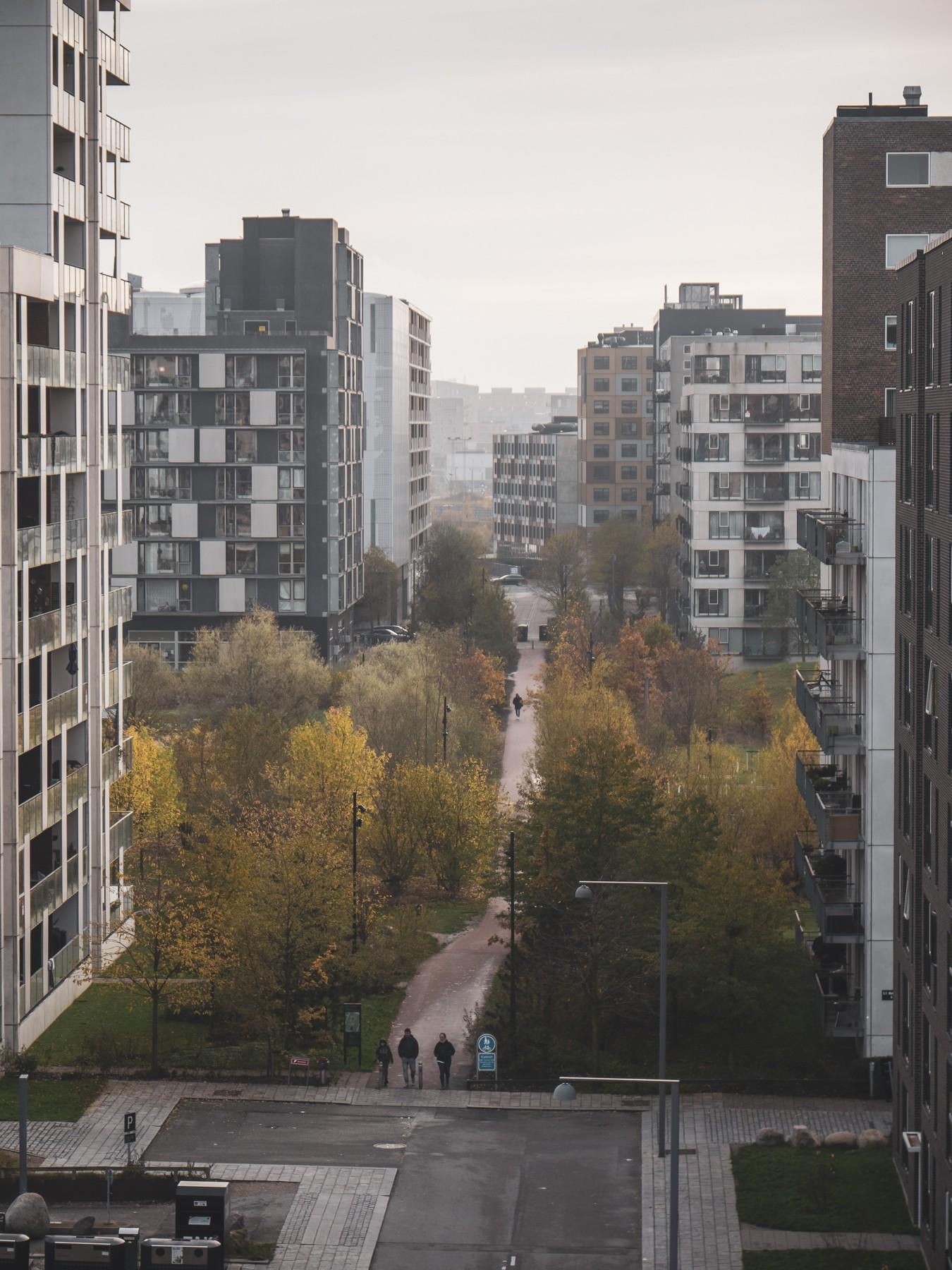 Byparken, Ørestad C