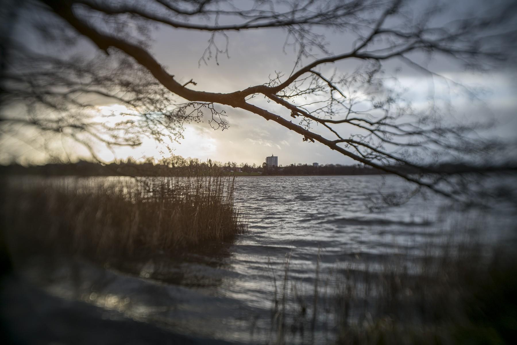 Bagsværd sø med et Lensbaby Trio