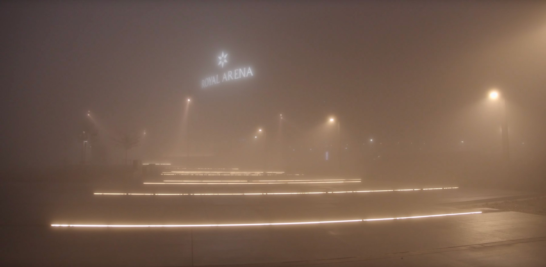 Ørestad i tyk tåge