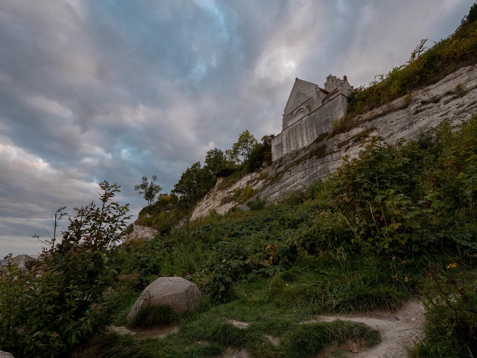 Højerup Kirke ved Stevns Klint
