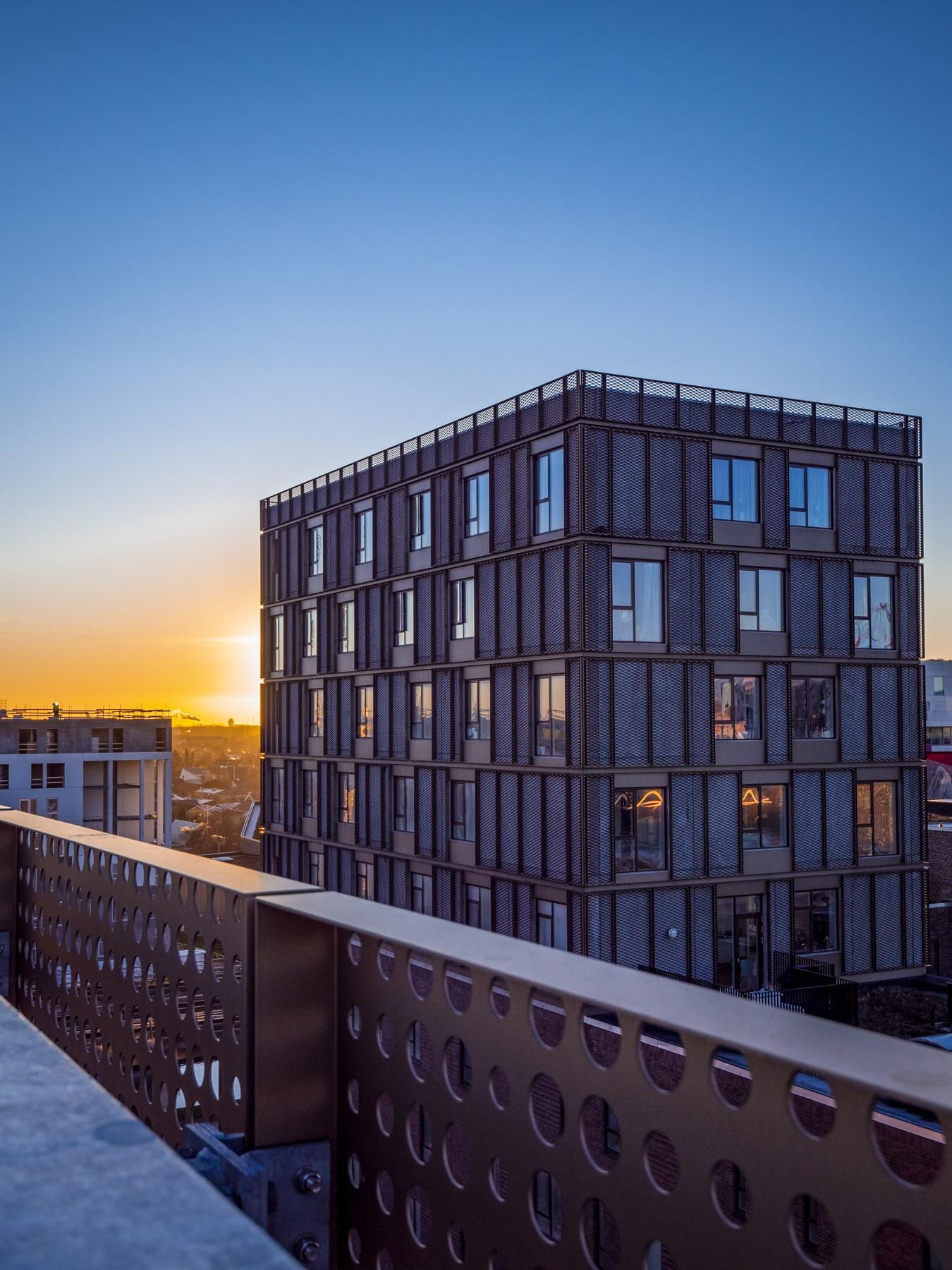 Bellakvarter ved solopgang 2020