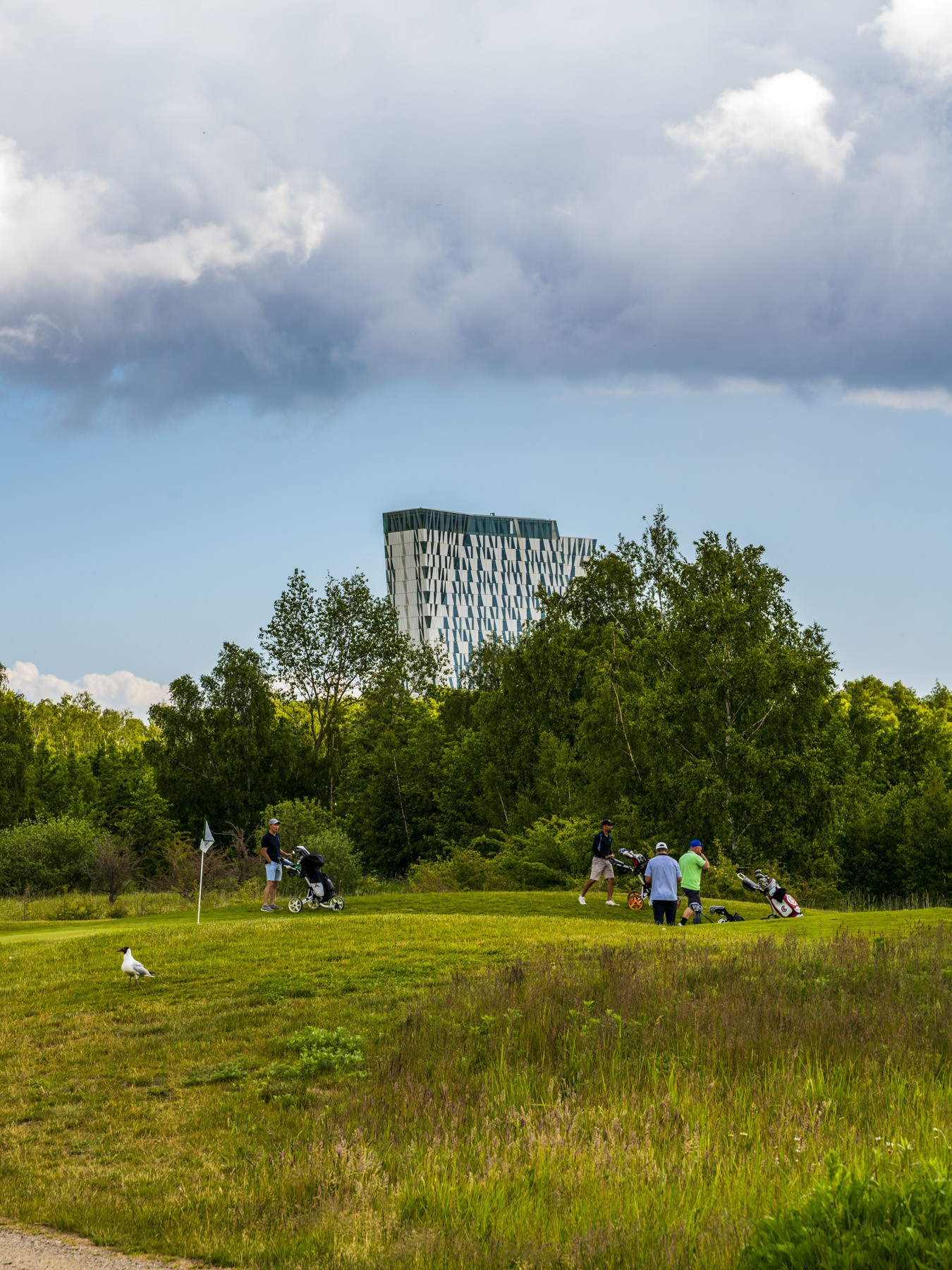 Bellakvarter fra golfbanen på fælleden, 2020