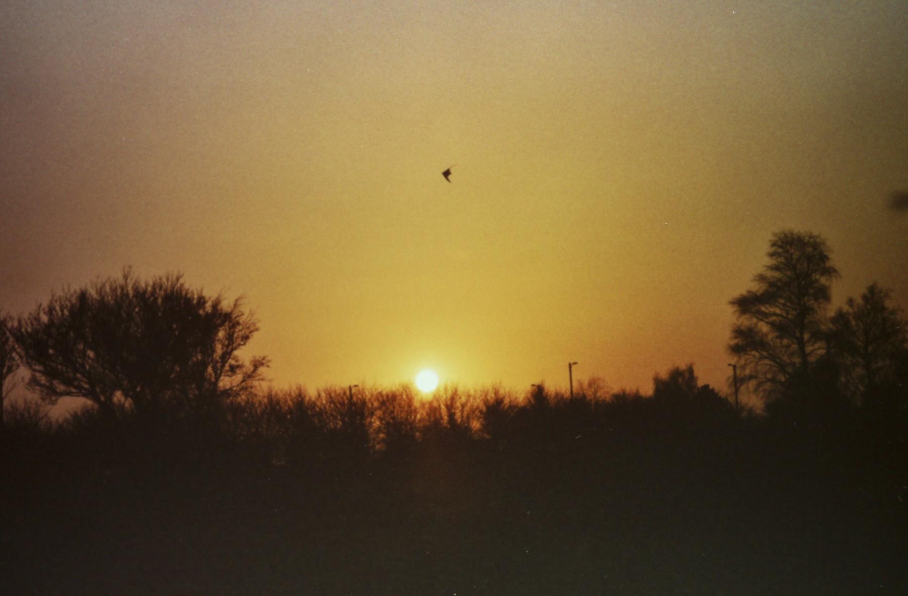 Solnedgang med et Canon EOS 300