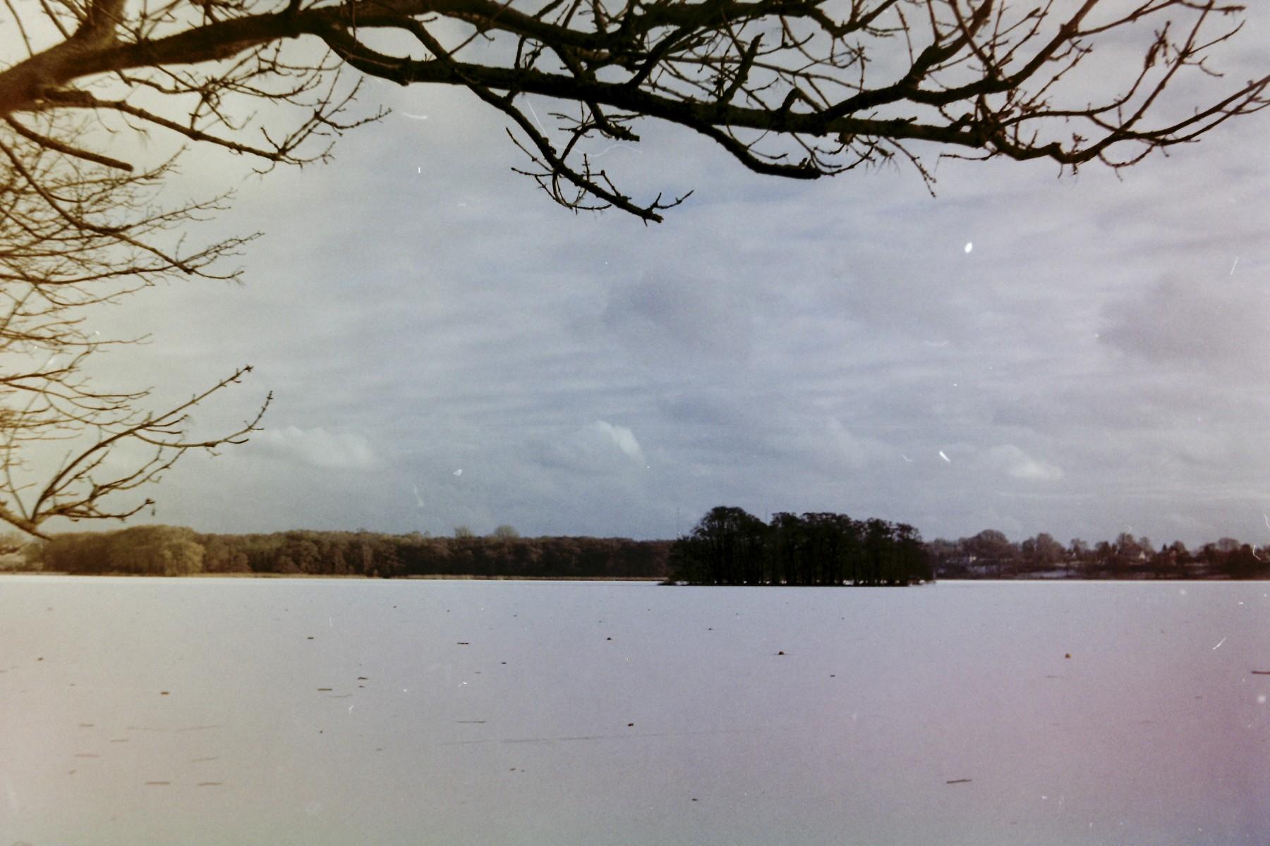 Bagsværd sø skudt med et Lomo Smena