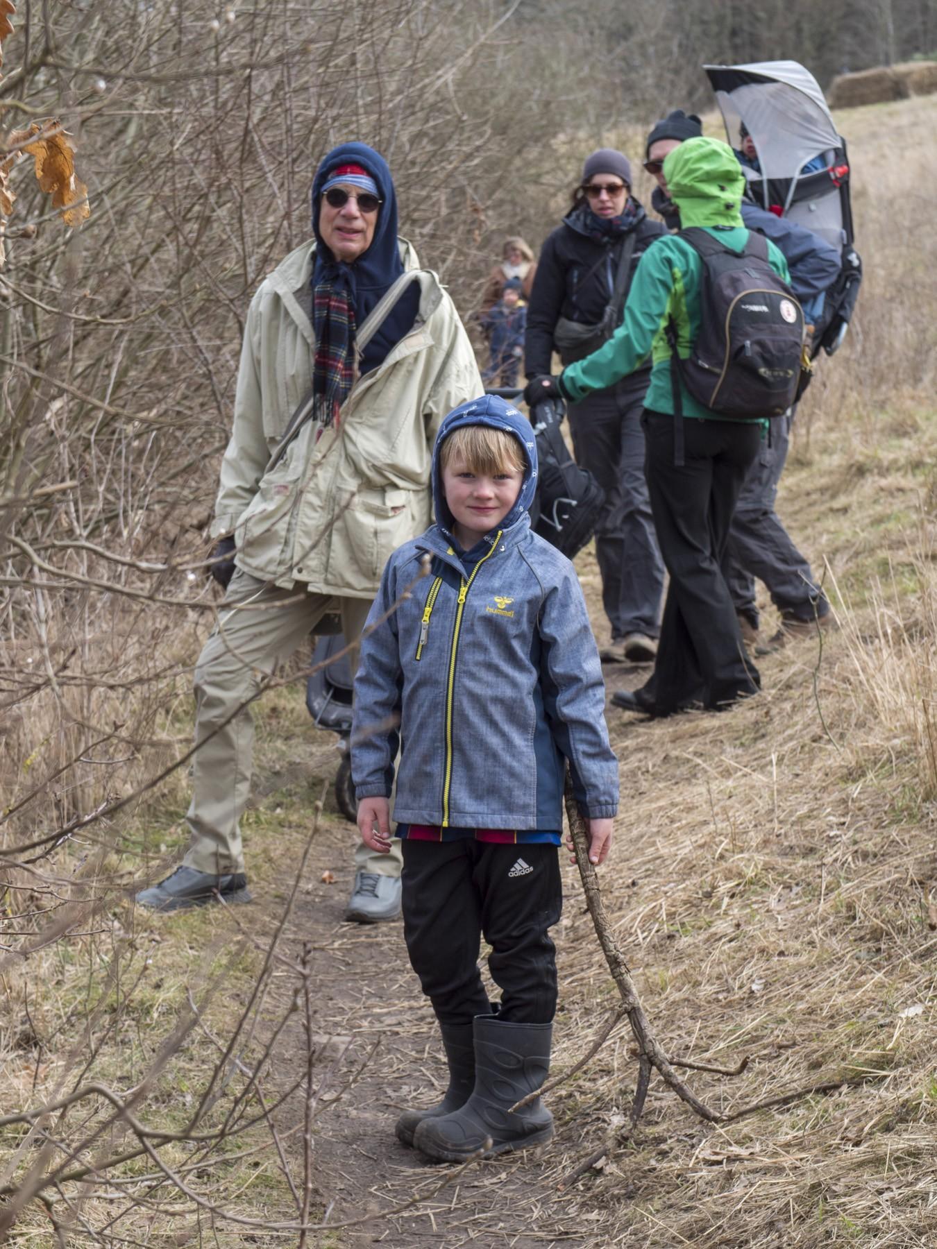 Familievandring rundt om Bastrup Sø