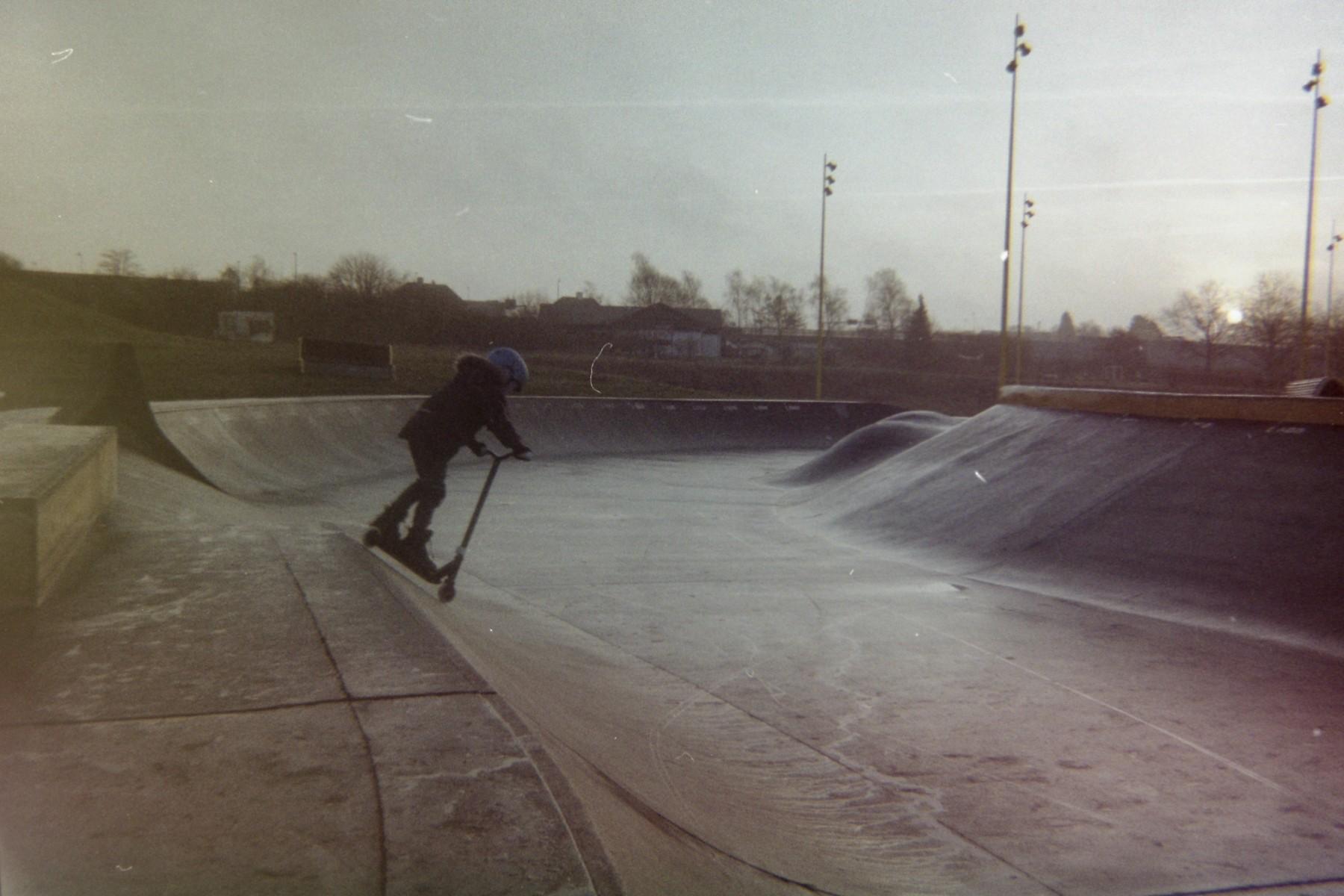Musicon skatebane - Agfa Reusable 35mm Camera