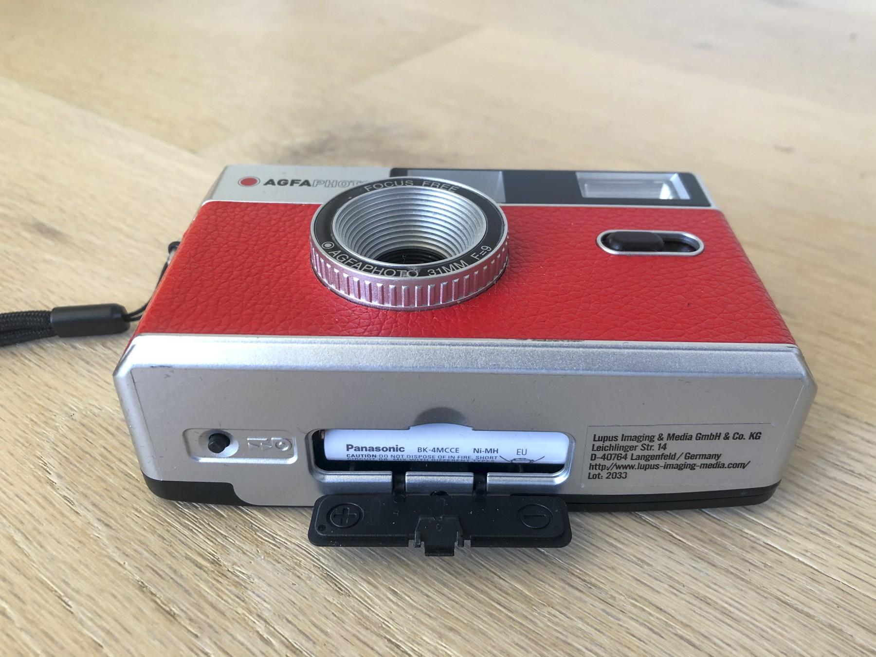 Agfa genbrugeligt 35mm kamera