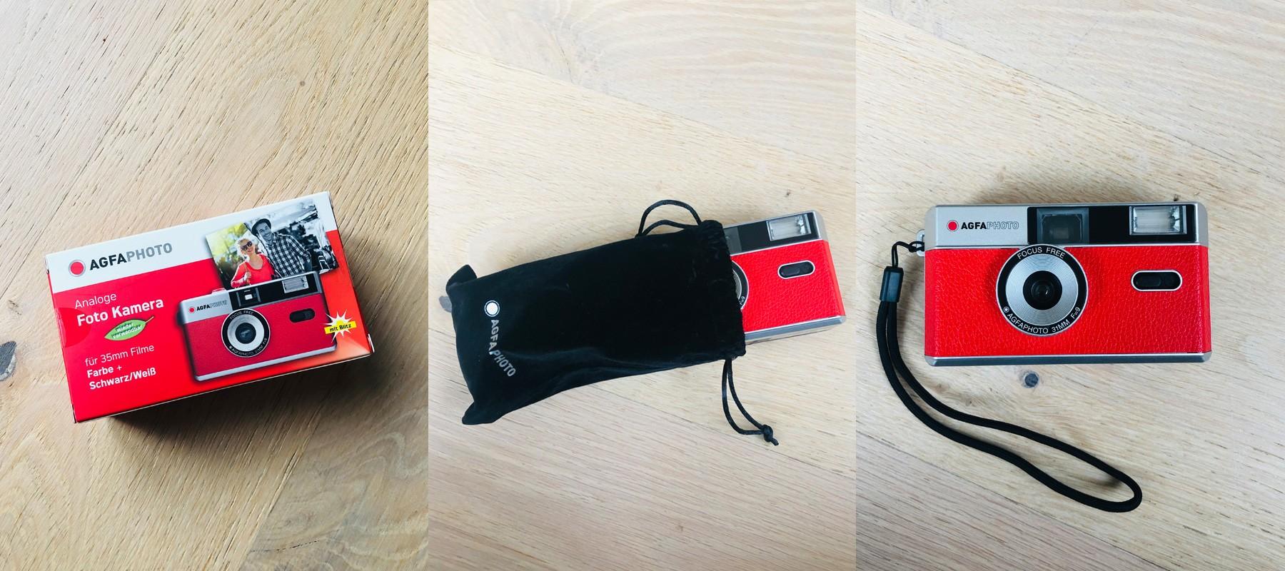Agfa reusable 35mm camera