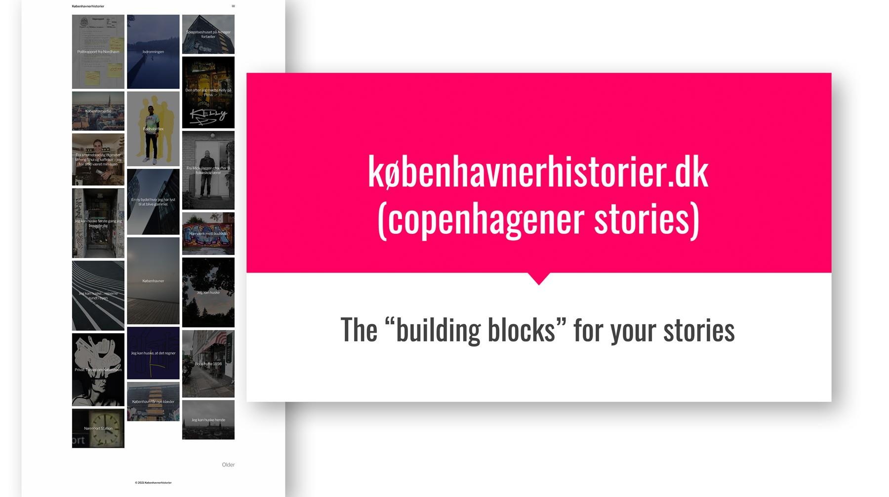 Københavnerhistorier - et undervisning, forsknings- og innovationsprojekt