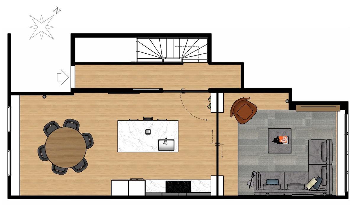century home design floorplan