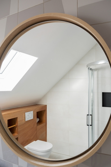 design bathroom attic