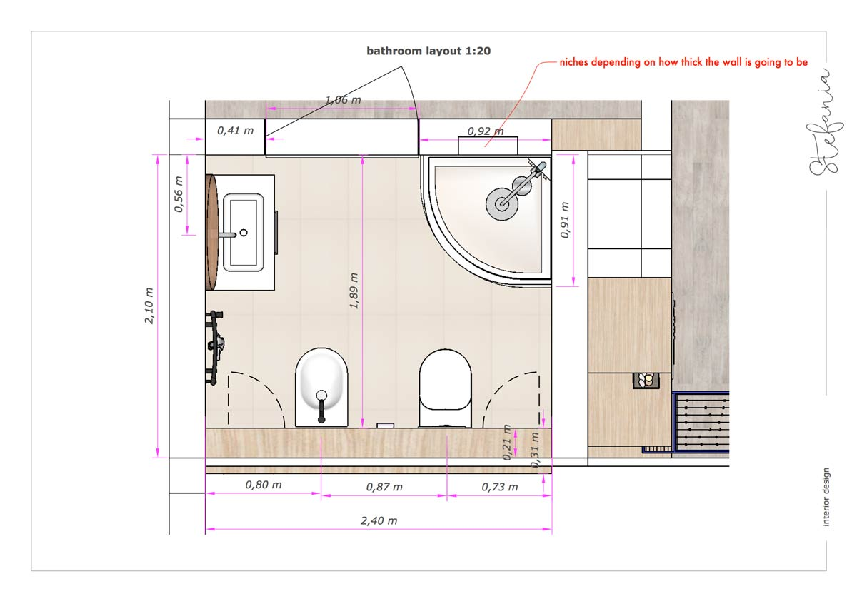 dedesign bathroom attic concept