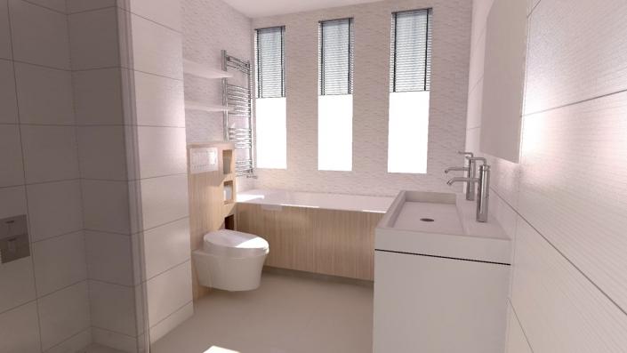 family bathroom design