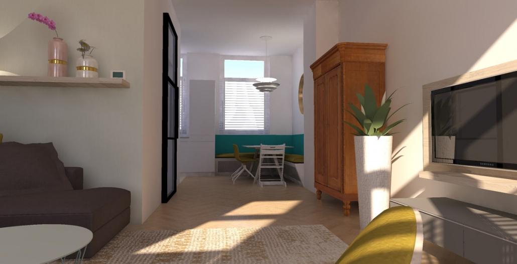 interior design sea shades