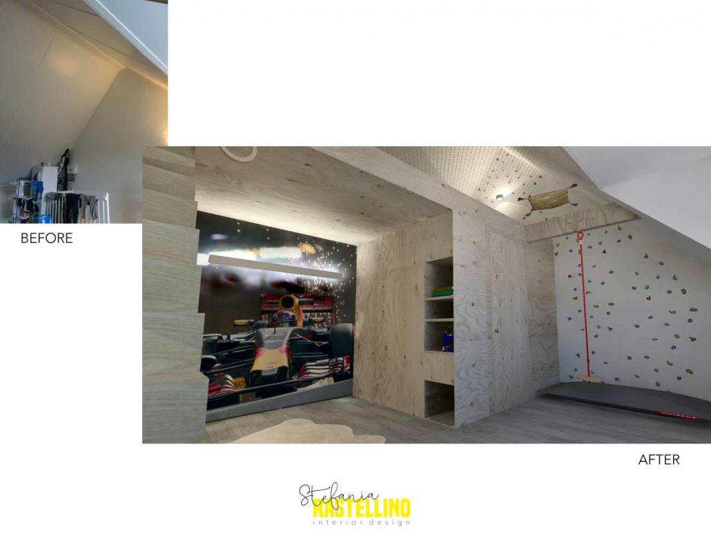 kidsroom design attic