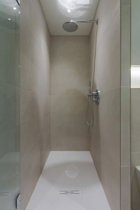 renovation bathroom small shower