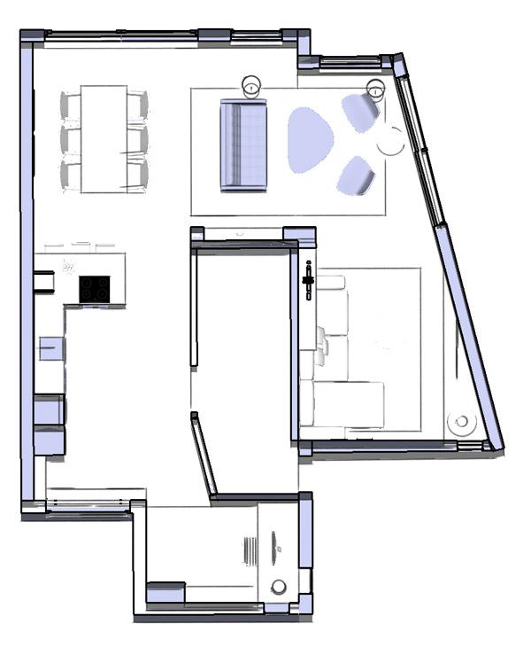 staging ground floor