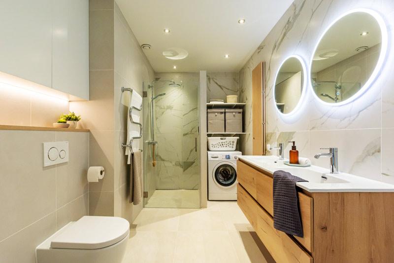 badkamer ontwerp vouwdeur