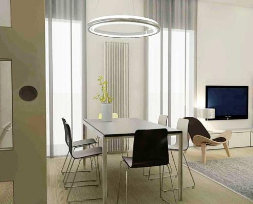 modern appartment ontwerp