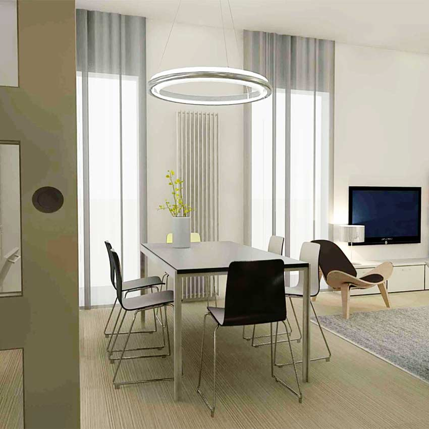 modern appartment ontwerp