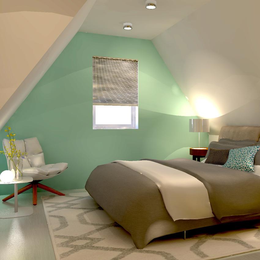 slaapkamer ontwerp zolder