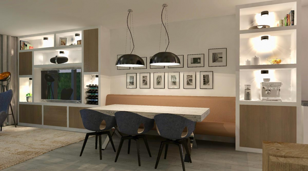 Woonkamer Ontwerp Design Bank