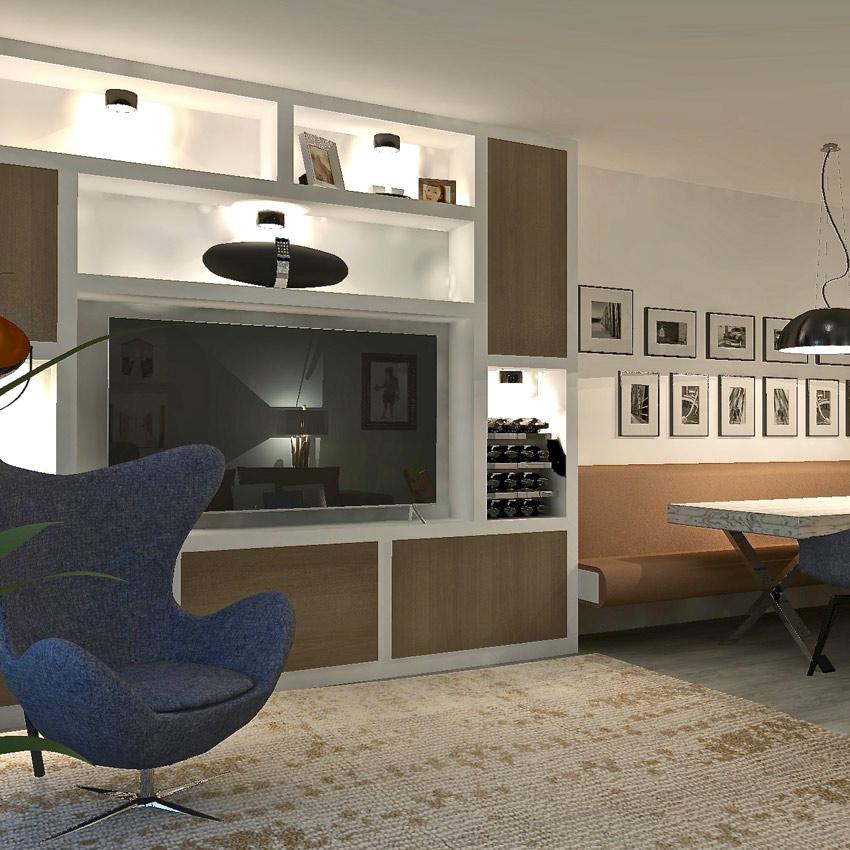 woonkamer design meubels