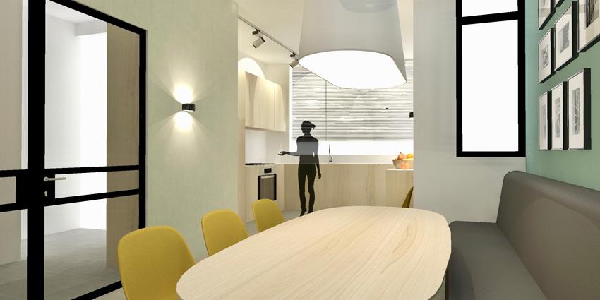 woonkamer open ontwerp