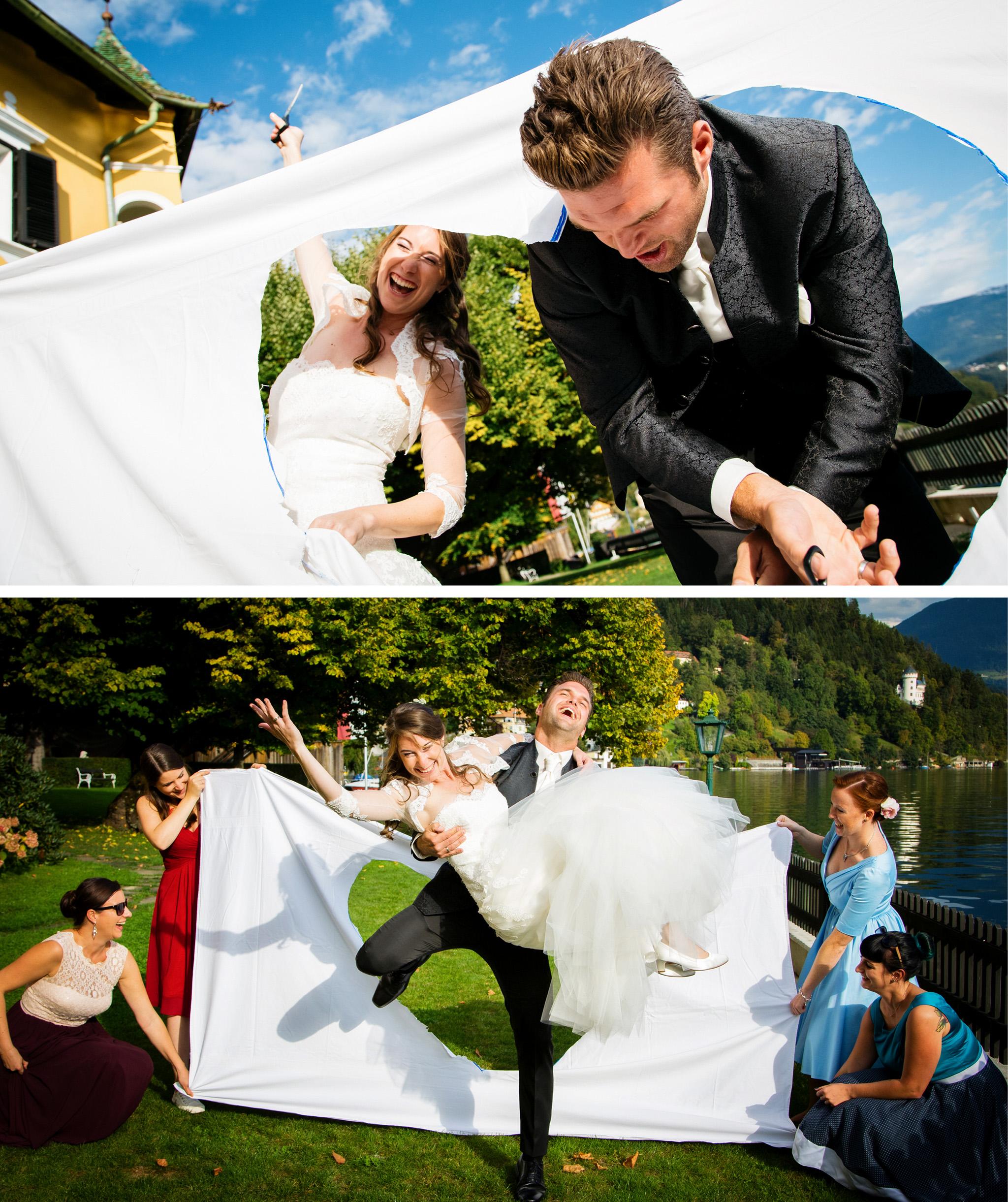 Hochzeit Seevilla Millstätter See Stift
