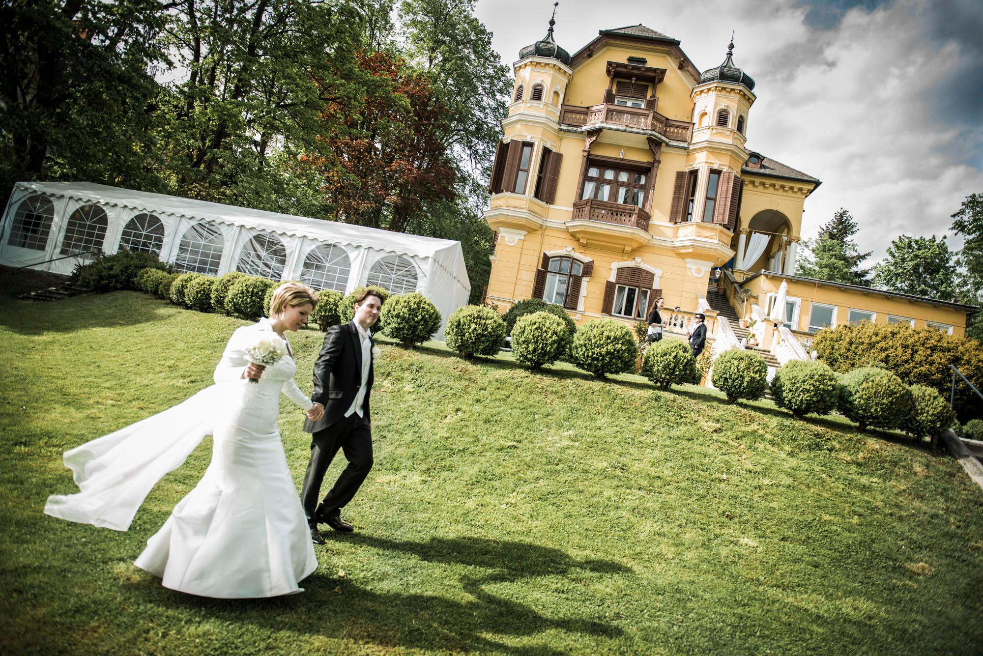 Hochzeit Pörtschach Villa Miralago Fotografie